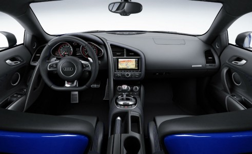 Audi R8 LMX interior carwitter 491x301 - Audi releases most powerful R8 ever - complete with Lasers - Audi releases most powerful R8 ever - complete with Lasers