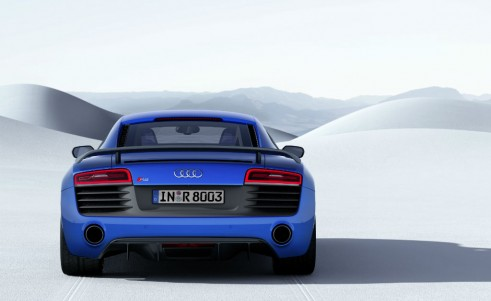 Audi R8 LMX rear carwitter 491x301 - Audi releases most powerful R8 ever - complete with Lasers - Audi releases most powerful R8 ever - complete with Lasers