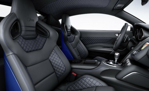 Audi R8 LMX seats carwitter 491x301 - Audi releases most powerful R8 ever - complete with Lasers - Audi releases most powerful R8 ever - complete with Lasers