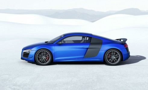 Audi R8 LMX side carwitter 491x301 - Audi releases most powerful R8 ever - complete with Lasers - Audi releases most powerful R8 ever - complete with Lasers