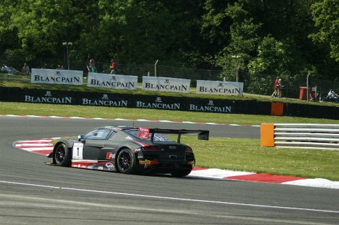 Blancpain 2014 Brands Hatch Audi R8 LMS Corner carwitter 491x326 - Blancpain 2014 – Brands Hatch – Grasser storm to first victory - Blancpain 2014 – Brands Hatch – Grasser storm to first victory