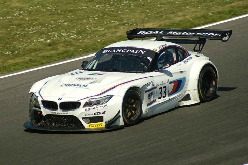 Blancpain 2014 Brands Hatch BMW Z3 GT3 Zanardi carwitter 491x327 - Blancpain 2014 – Brands Hatch – Grasser storm to first victory - Blancpain 2014 – Brands Hatch – Grasser storm to first victory
