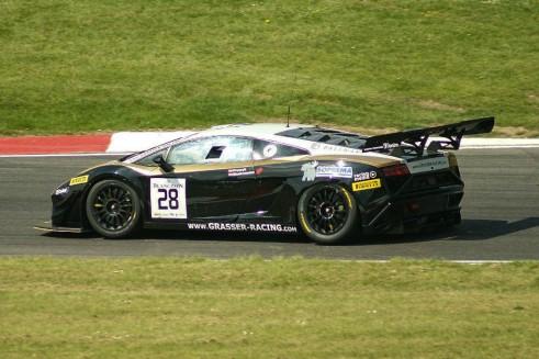Blancpain 2014 Brands Hatch - Lamborghini GT3 Gallardo - carwitter