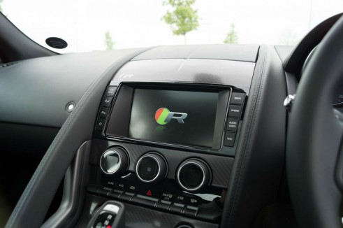 Jaguar F-Type Coupe R Review - Dashboard Centre Console - carwitter
