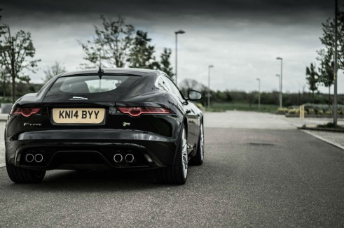 Jaguar F-Type Coupe R Review -Rear Scene - carwitter