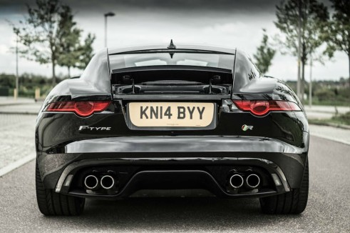 Jaguar F-Type Coupe R Review - Rear - carwitter