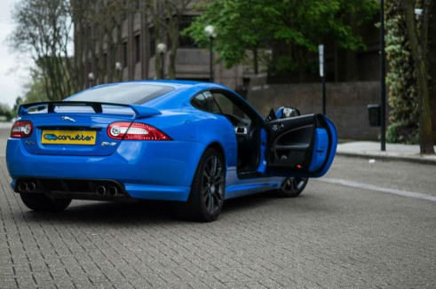 Jaguar XKRS Review Door Open carwitter 491x326 - Jaguar XKR-S Review – A dying breed - Jaguar XKR-S Review – A dying breed