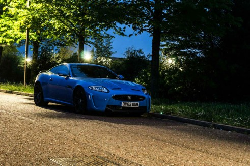 Jaguar XKRS Review Front Angle Night carwitter 491x326 - Jaguar XKR-S Review – A dying breed - Jaguar XKR-S Review – A dying breed