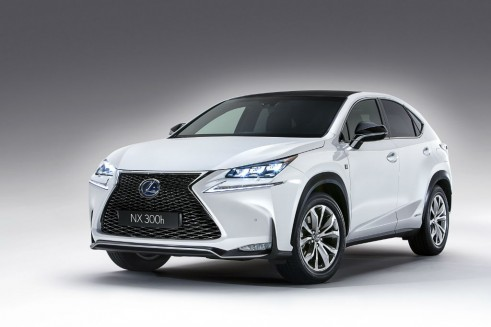 Lexus NX front - carwitter