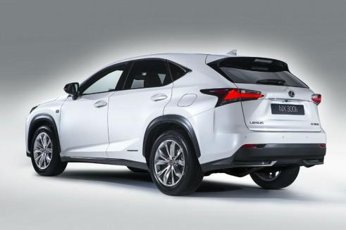 Lexus NX rear 2 - carwitter