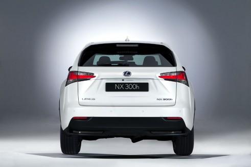 Lexus NX rear - carwitter