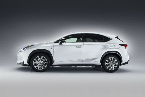 Lexus NX side - carwitter