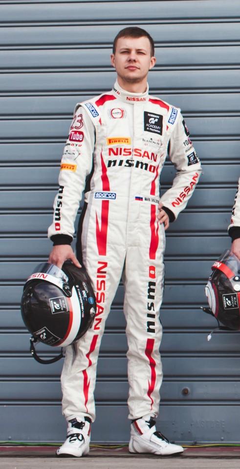 Mark Shulzhitskiy carwitter 491x957 - Mardenborough returns to Le Mans with Oak - Mardenborough returns to Le Mans with Oak