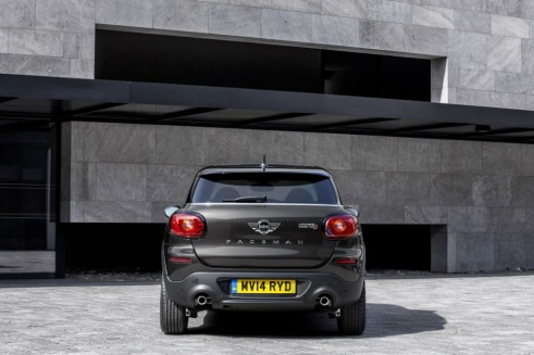 Mini Cooper S Paceman - Rear - carwitter
