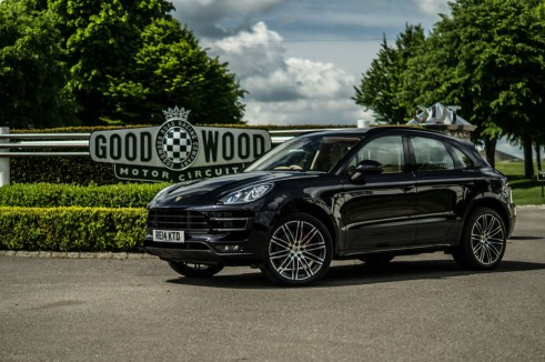 Porsche Macan Turbo Review - Goodwood Sign - carwitter