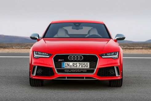 2014 Audi RS7 front carwitter 491x327 - Audi gives the 2014 RS7 a nip-tuck - Audi gives the 2014 RS7 a nip-tuck