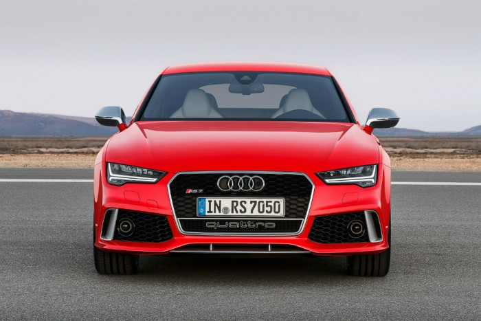 2014 Audi RS7 front  - carwitter