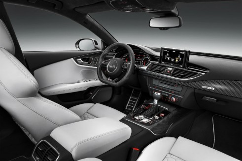 2014 Audi RS7 interior carwitter 491x327 - Audi gives the 2014 RS7 a nip-tuck - Audi gives the 2014 RS7 a nip-tuck