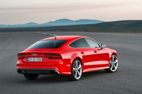 2014 Audi RS7 rear carwitter 491x327 - Audi gives the 2014 RS7 a nip-tuck - Audi gives the 2014 RS7 a nip-tuck
