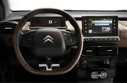 Citroen C4 Cactus Review - Steering Wheel - carwitter