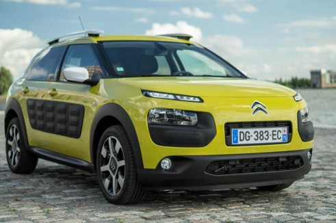 Citroen C4 Cactus Review Yellow Front Angle Close carwitter 491x326 - Citroen C4 Cactus Review - The Future - Citroen C4 Cactus Review - The Future