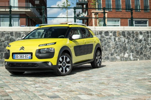 Citroen C4 Cactus Review Yellow Front Angle carwitter 491x326 - Citroen C4 Cactus Review - The Future - Citroen C4 Cactus Review - The Future