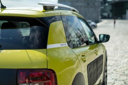 Citroen C4 Cactus Review - Yellow Rear Detail - carwitter