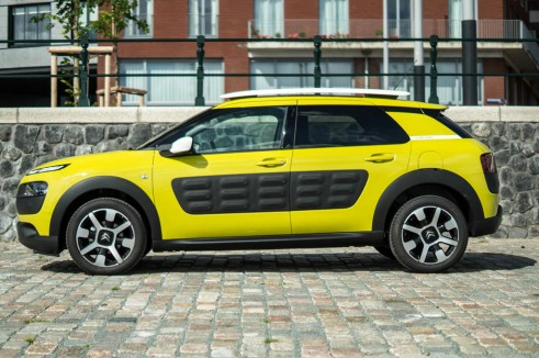 Citroen C4 Cactus Review Yellow Side carwitter 491x326 - Citroen C4 Cactus Review - The Future - Citroen C4 Cactus Review - The Future