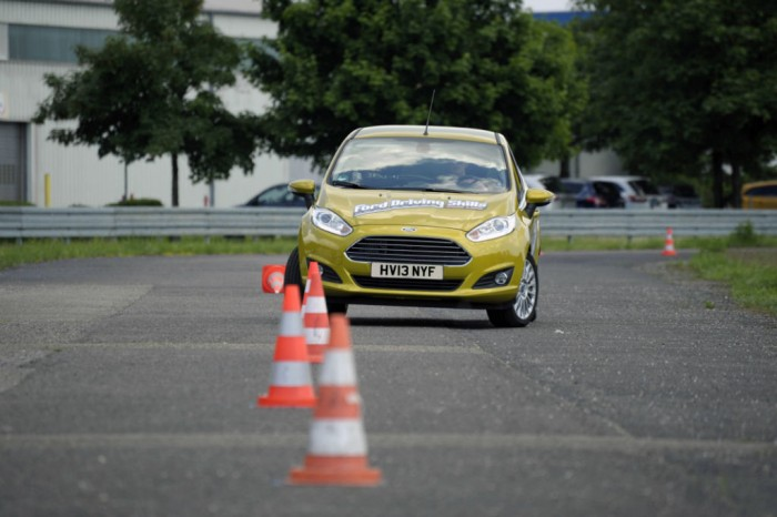 Ford Driving Skills For Life Slalom carwitter 700x466 - Could You Pass A Driving Test In A Different Country? - Could You Pass A Driving Test In A Different Country?