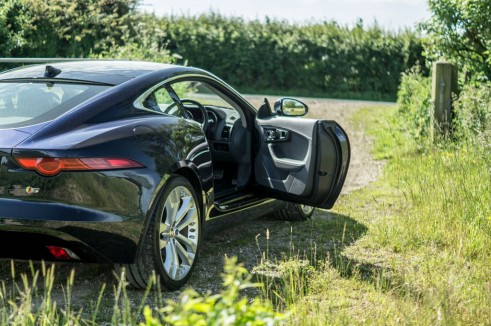 Jaguar F Type S Coupe Door Open carwitter 491x326 - Jaguar F-Type S Coupe Review – Still the one to buy - Jaguar F-Type S Coupe Review – Still the one to buy