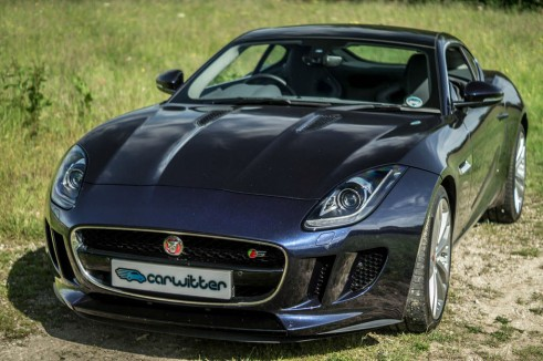 Jaguar F Type S Coupe Front Angle Close carwitter 491x326 - Jaguar F-Type S Coupe Review – Still the one to buy - Jaguar F-Type S Coupe Review – Still the one to buy
