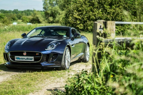 Jaguar F Type S Coupe Front Gate Scene carwitter 491x326 - Jaguar F-Type S Coupe Review – Still the one to buy - Jaguar F-Type S Coupe Review – Still the one to buy