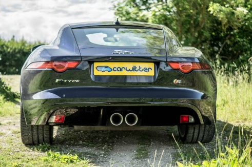 Jaguar F Type S Coupe Rear carwitter 491x326 - Jaguar F-Type S Coupe Review – Still the one to buy - Jaguar F-Type S Coupe Review – Still the one to buy