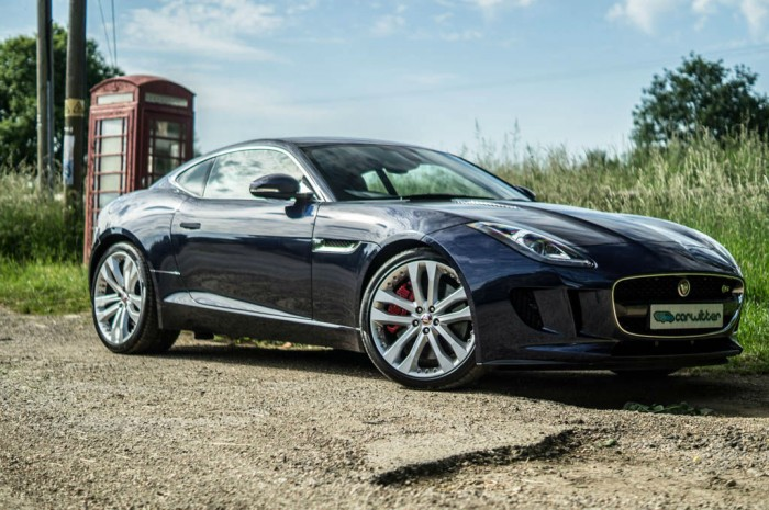 Jaguar F Type S Coupe Side Scene carwitter 700x465 - Jaguar F-Type S Coupe Review – Still the one to buy - Jaguar F-Type S Coupe Review – Still the one to buy