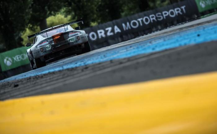 Le Mans 2014 Aston 98 carwitter 700x432 - Le Mans 2014 - Audi triumph as last men standing - Le Mans 2014 - Audi triumph as last men standing