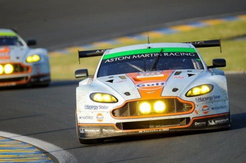 Le Mans 2014  Astons - carwitter