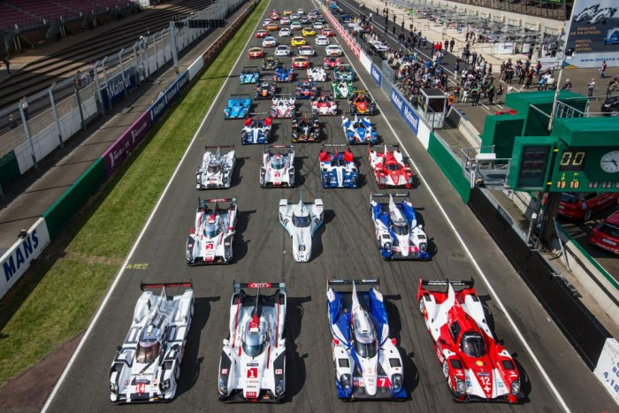 Le Mans 2014 grid carwitter 700x467 - WEC and Le Mans entry lists revealed - WEC and Le Mans entry lists revealed