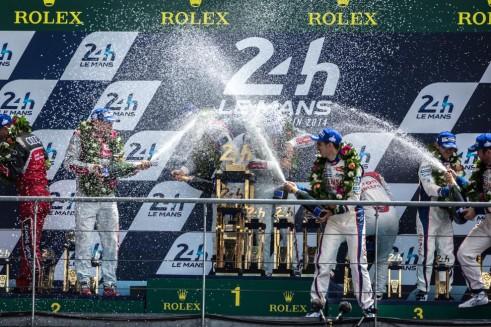 Le Mans 2014 podium - carwitter