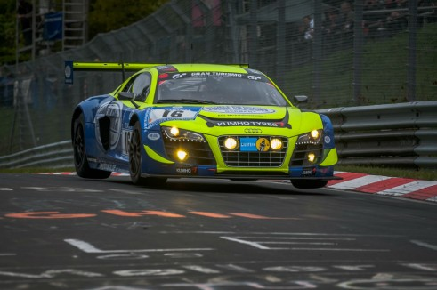 Nurburgring 24 Hours 2013 - Audi R8 LMS - carwitter