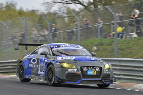 Rotek Racing Audi TT Nurburgring 24 - carwitter