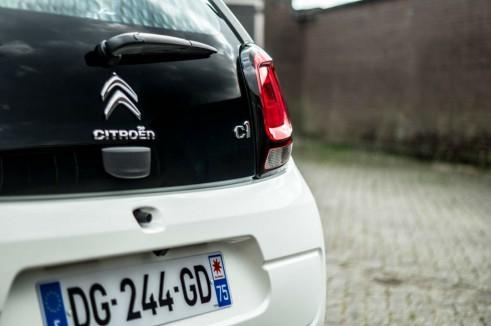 2014 Citroen C1 Review - Boot Detail - Carwitter