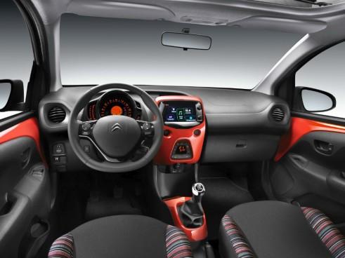 2014 Citroen C1 Review - Dashboard - Carwitter