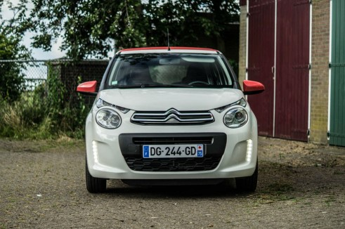 2014 Citroen C1 Review - Front - Carwitter