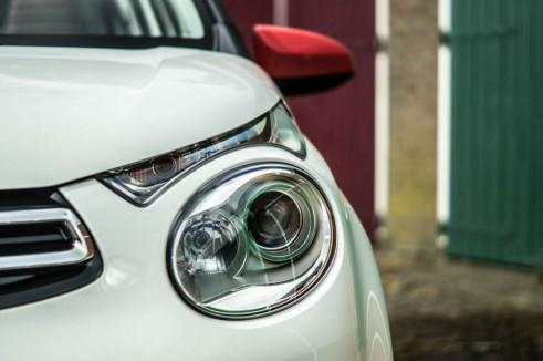 2014 Citroen C1 Review - Headlight Close Up - Carwitter