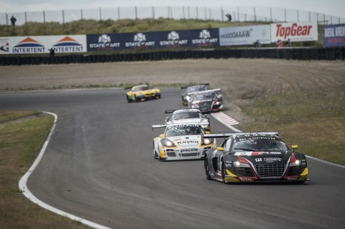 Blancpain Sprint Series Zandvoort WRT 2 carwitter 491x327 - Blancpain Sprint Review 2014 - Blancpain Sprint Review 2014