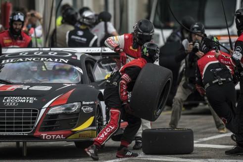 Blancpain Sprint Series Zandvoort pits - carwitter