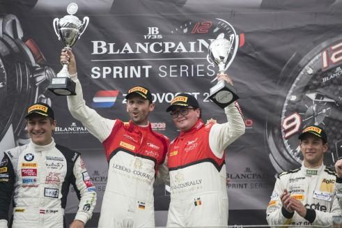 Blancpain Sprint Series Zandvoort podium - carwitter