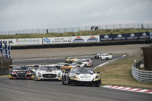 Blancpain Sprint Series Zandvoort start carwitter 491x327 - Blancpain Sprint Review 2014 - Blancpain Sprint Review 2014