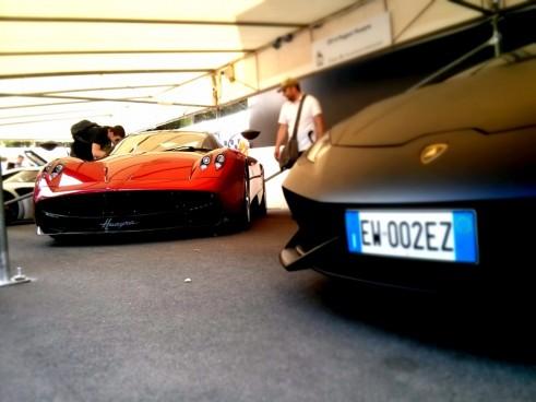 Pagani,Huayra,Front,Lamborghini,Huracan,Front,Carwitter