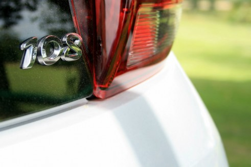 Peugeot 108 Review Badge Detail carwitter 491x327 - Peugeot 108 Review – A grown up city car - Peugeot 108 Review – A grown up city car